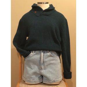 Club Monaco green wool sweater